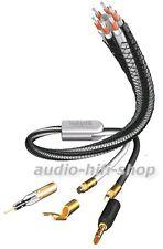 original inakustik LS-603 single-wire Referenz Lautsprecherkabel mit Screw Types