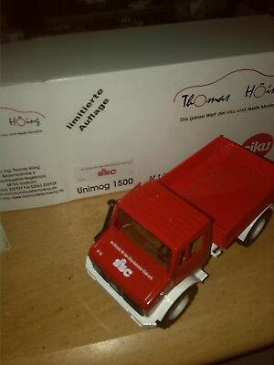 Autos, Lkw & Busse Geschickt Siku 3153 Unimog U 1500 Ssc Limitiertes Sondermodell Ovp Lassen Sie Unsere Waren In Die Welt Gehen Modellbau