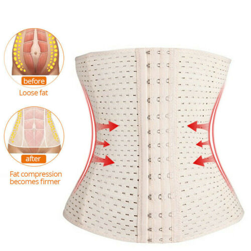 Women Body Shaper Slimming Waist Trainer Cincher Underbust Corset Belt Shapew/_TI