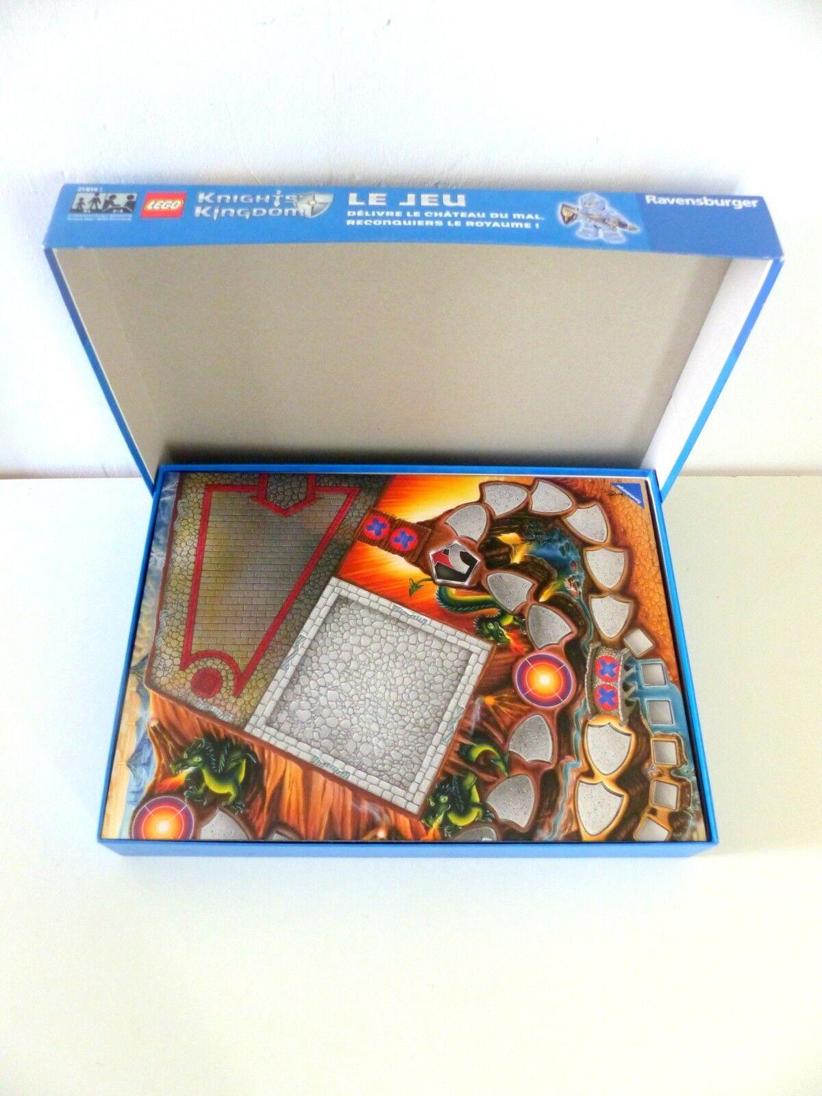 LEGO 21814 boite jeu Knights Kingdom rare complète set game game game player figure notice 1f5b49