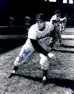 Signed-8x10-BOB-SHAW-Detroit-Tigers-Autographed-photo-COA