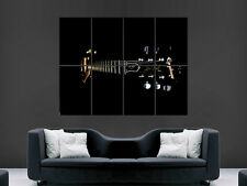 LES PAUL GUITAR   ART WALL LARGE IMAGE GIANT POSTER