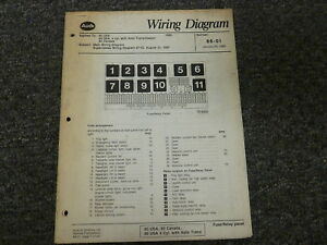 1988 audi 80 90 quattro sedan electrical wiring diagram manual 2 0 rh ebay com