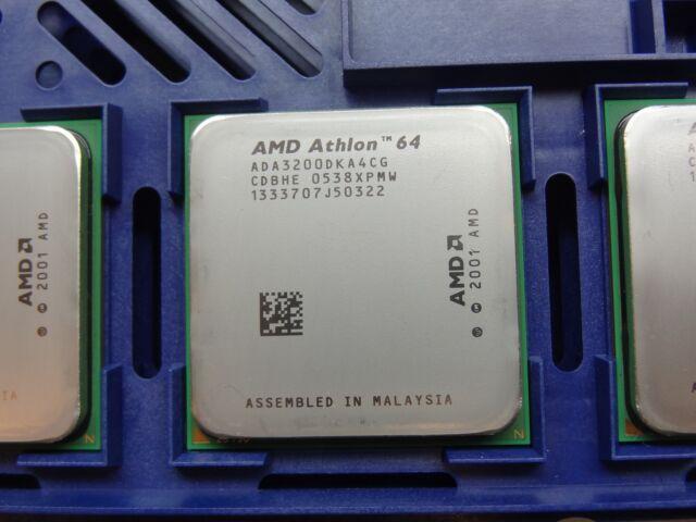 AMD Athlon 64 3200+ 2.0GHz Socket 939 (ADA3200DKA4CG) CPU #TQ1516