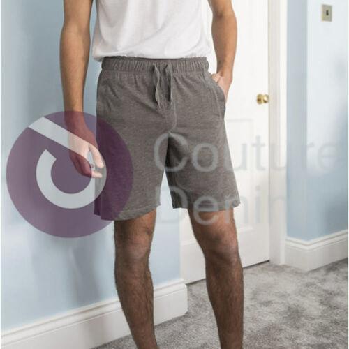 Mens Lads Soft Comfy Pyjama Shorts PJ Nightwear Loungewear Sleepy Plain Pants