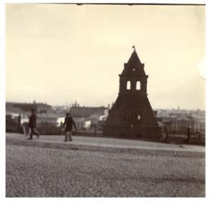 Russie-Moscou-Kremlin-vintage-print-Tirage-citrate-9x9-Circa-1900
