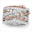 Infinity-Women-925-Silver-Rings-White-Sapphire-Jewelry-Wedding-Rings-Size-5-12 thumbnail 6