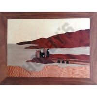 Eilean Donan Castle: Traditional Marquetry Craft Kit Plus Dvd By Cove Workshop