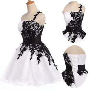 Lace short prom dresses evening wedding party ball gown plus size au