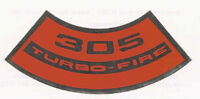 Chevrolet 305 Turbo-Fire Air Cleaner Decal