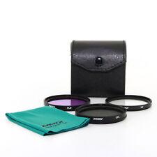 58mm CPL UV FLD filter kit for Canon EOS 500D/Rebel T1i