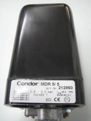 """212850 Cóndor presostatos mdr 5//5 1//2/""""nr"""