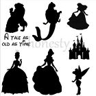 Princess Castle Sticker Vinyl Decal Car Window Wall Bumper Laptop Home Decor