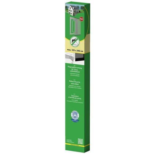 Easy Life Protection insectes Moustiquaire pour porte 125 x 240 cm Rideau Anthracite une
