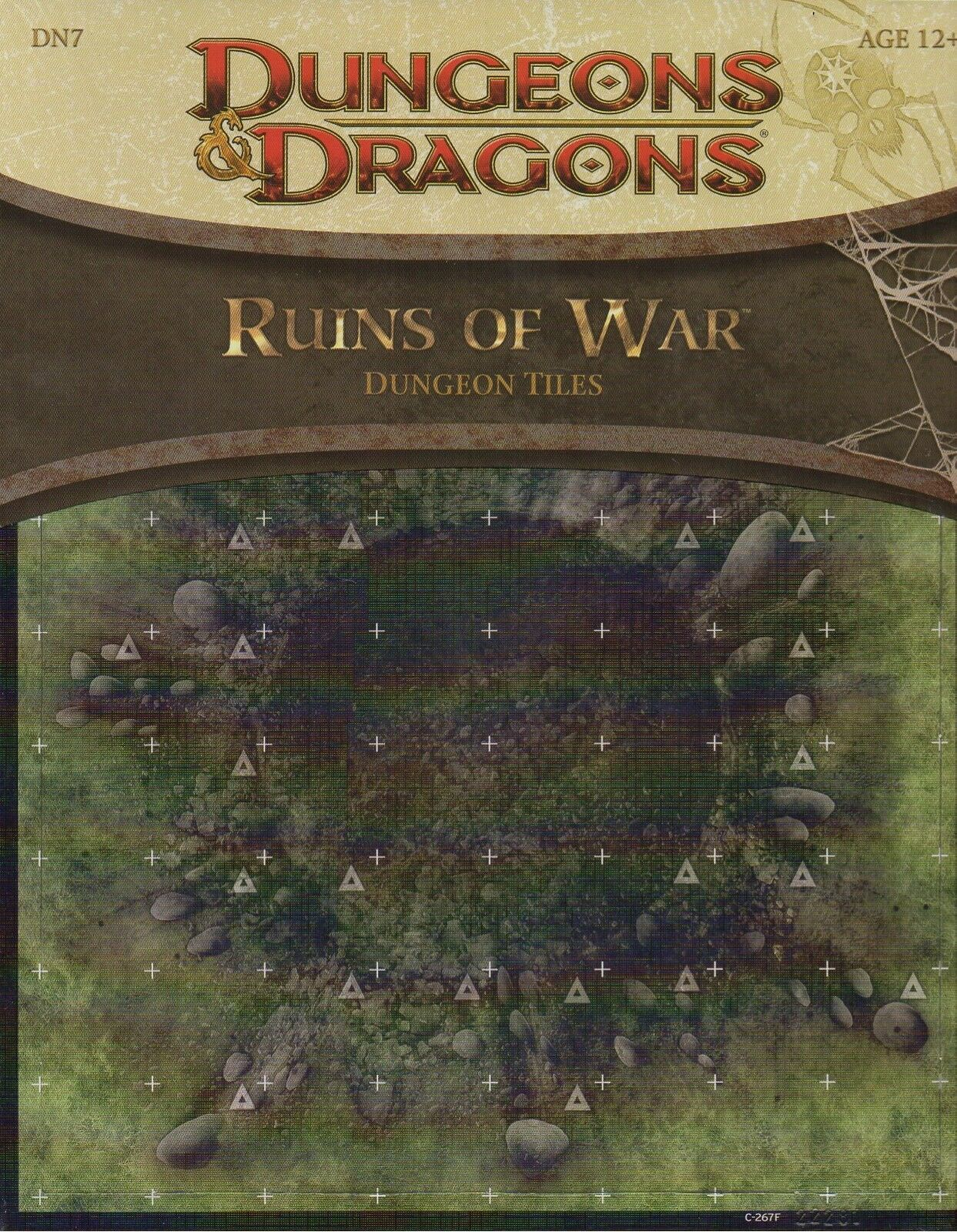 Dungeons &drakes -D &D -Ruins of War -Dungeon Tiles -slåssfield -RPG -Tabletop -new