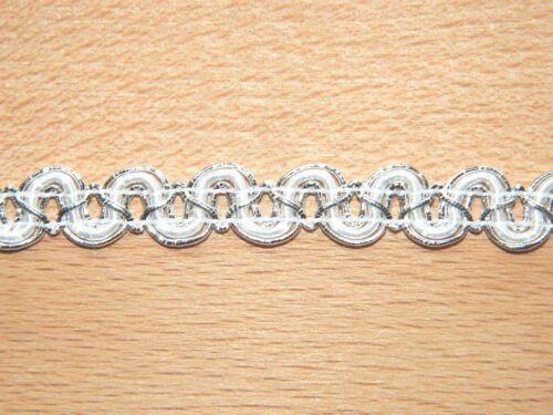 1 M posamentenborte//lurex Galon 10 mm schmuckband//zierborte