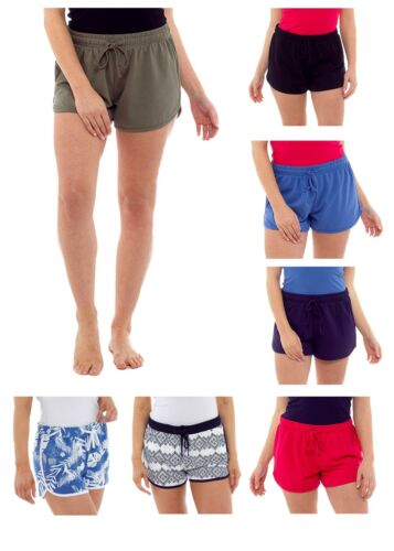 Womens Ladies Undercover Jersey Cotton Beach Shorts Summer Holiday Short