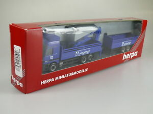 Herpa-146937-MB-Actros-Materiale-Costruzione-Hz-034-Hochtief-034-Nuovo