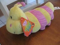 Nen National Entertainment Network Sugarloaf Plush 13 Caterpillar Yellow