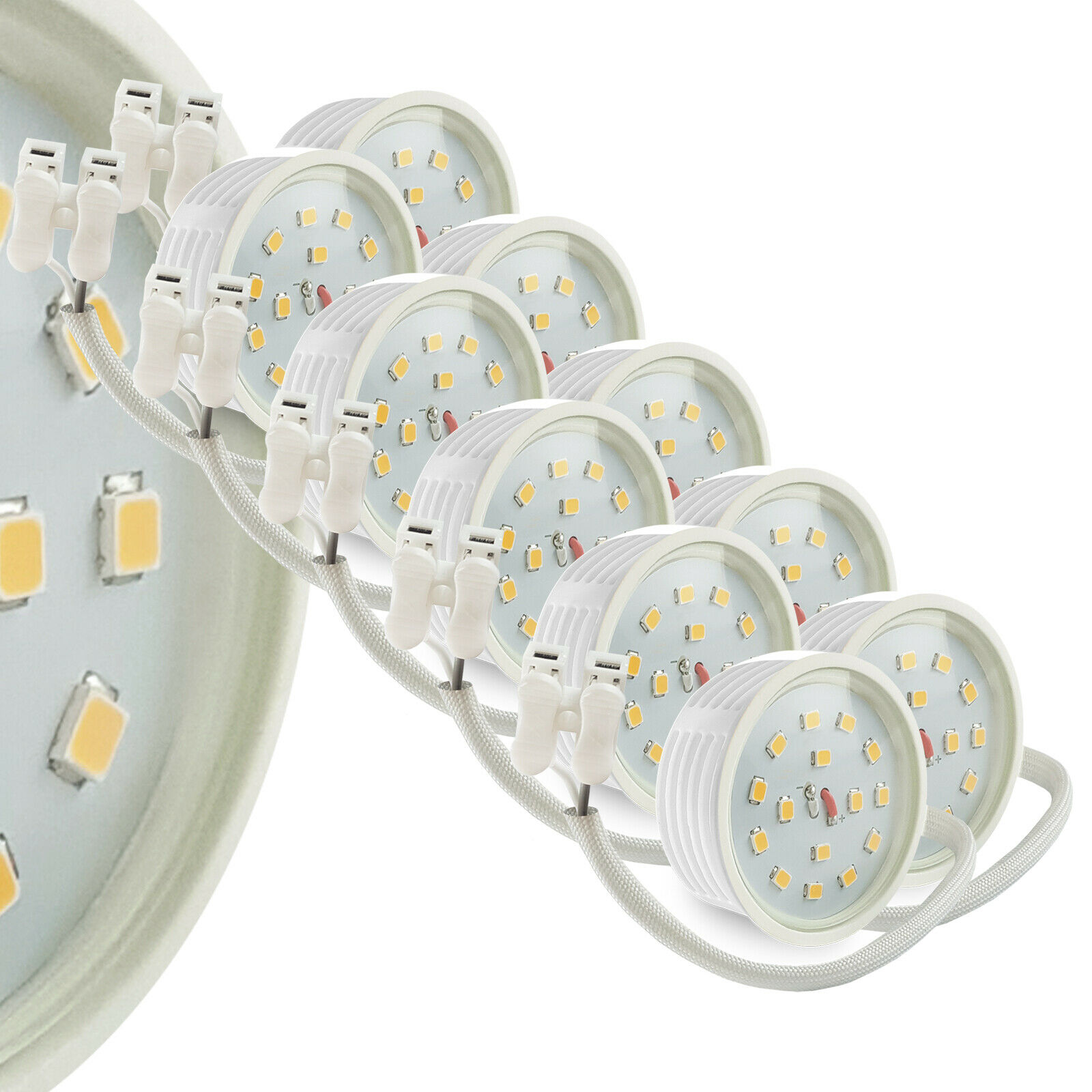 LED Leuchtmittel für Einbaustrahler Ultra Flach Flat 22mm 5W SMD dimmbar 230V