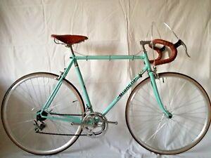 nuovo stile offerta speciale scopri le ultime tendenze Detalles de Bici corsa BIANCHI cm 55 Campagnolo Brooks Vintage eroica bici  da corsa rennrad