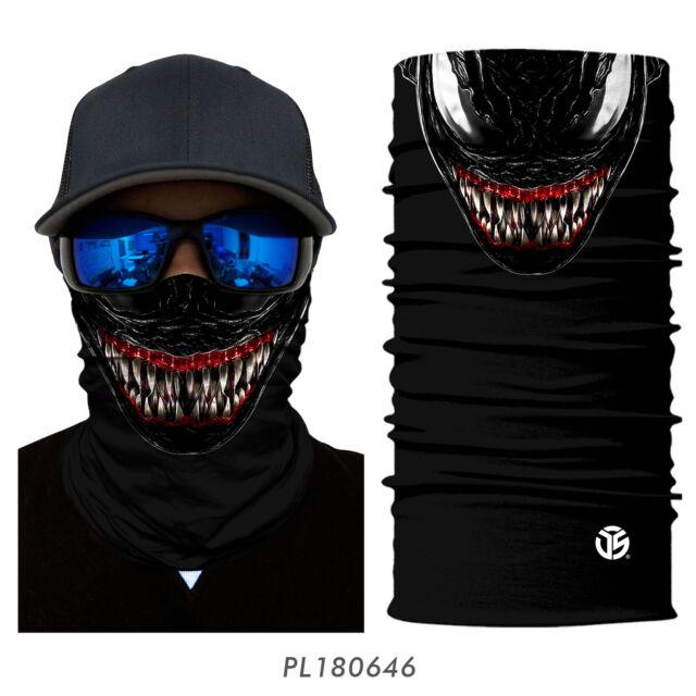 1-8pcs Neck Gaiter Tube Bandana Fishing Ski Face Cover Headbands Balaclava Scarf