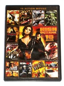 Details about 10 Action Movies DVD High Octane Distortion Hellbinders Recon  2020 Payback