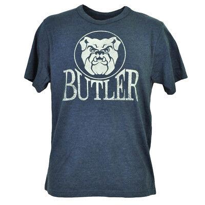 Baseball & Softball Fanartikel Angemessen Ncaa Butler Bulldogs Marineblau T-shirt Herren Kurzarm Rundhals Sport Ausgereifte Technologien
