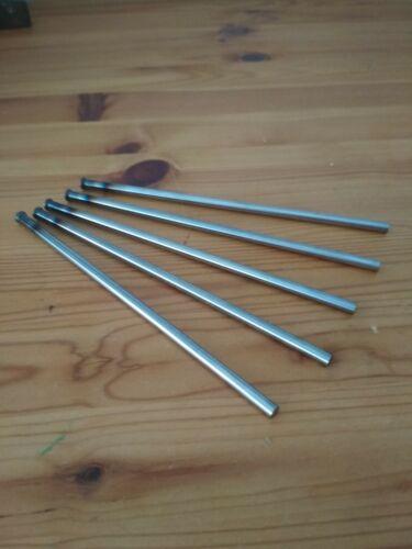 ähnlich DIN 1530 Form D  !NEU! je 5 Auswerfer D3mm x 160mm gehärtet