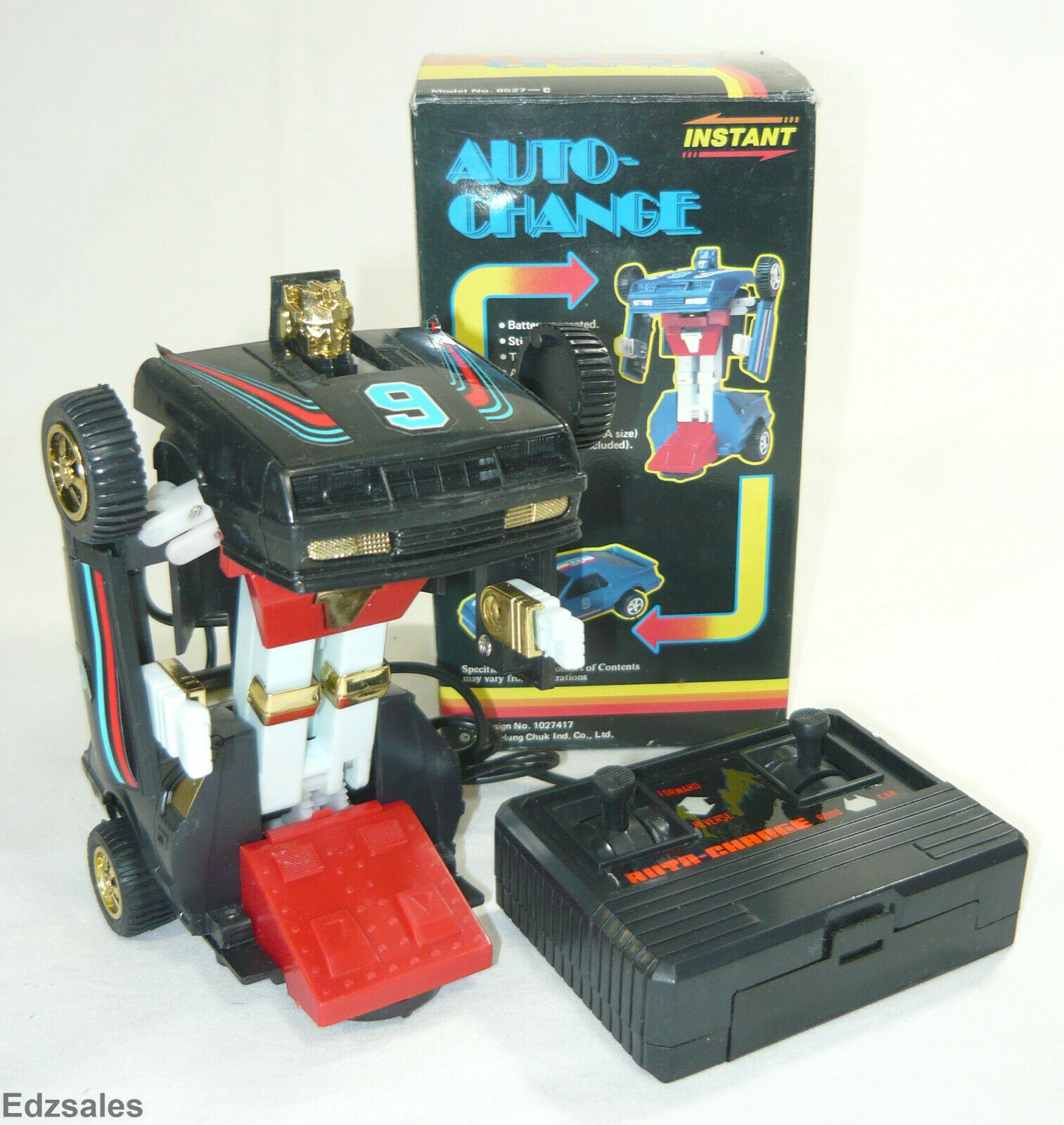 1985  Vintage Transforming Robot auto Controlled giocattolo by Hung Chuk  all'ingrosso a buon mercato