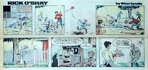 Rick-O-039-Shay-by-Stan-Lynde-full-color-Sunday-comic-page-May-25-1975