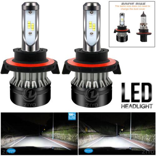 6000K HID White H13 9008 LED HEADLIGHT Conversion Kit Bulbs Hi//Lo Beam