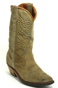S Cowboystiefel Line Dance Catalan Style Western Leder Texas Boots Lochmuster 40