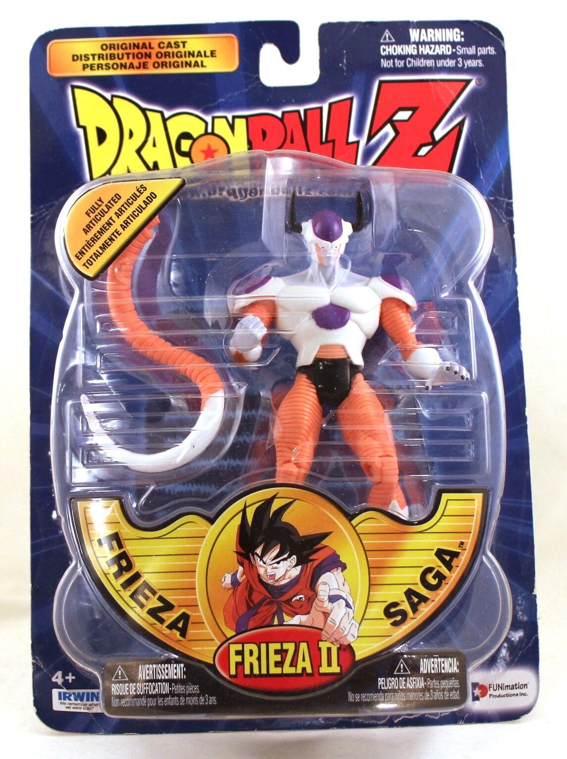2000 dragonball z - 6  frieza saga frieza ii actionfigur auf verschlossene irwin.