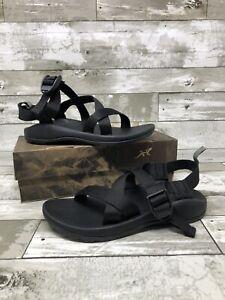 Chaco J180197 Kid/'s Z//1 EcoTread Black Sport Sandal