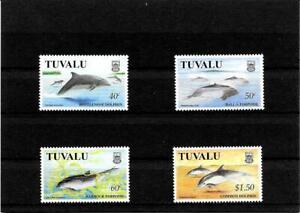 Briefmarken -Tuvalu -Fische -Satz