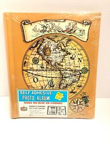 Details about Vintage Photo Album Brown Self Adhesive 10 Sheets Kmart on target store map, strategic relocation map, nuclear map,