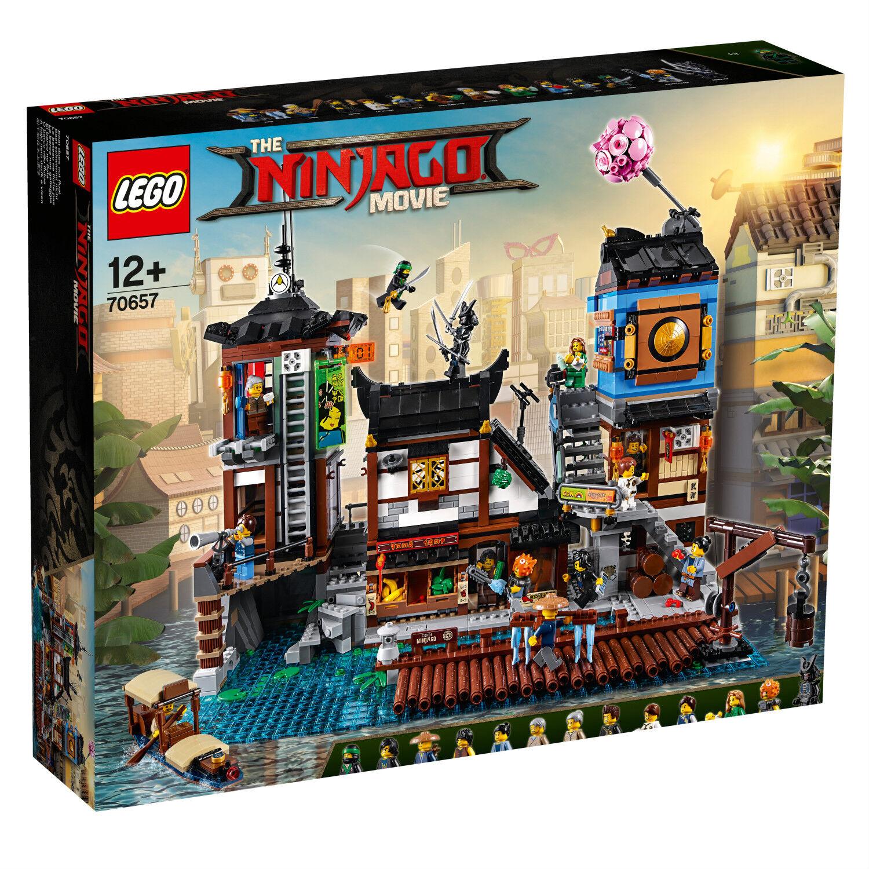 Lego Ninjago 70657 City muelles de puerto 3553 piezas n6 n6 n6 18 (70620 complementa)  alta calidad general