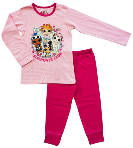 Lol Surprise Dolls Pyjamas Ages 4-10 Years