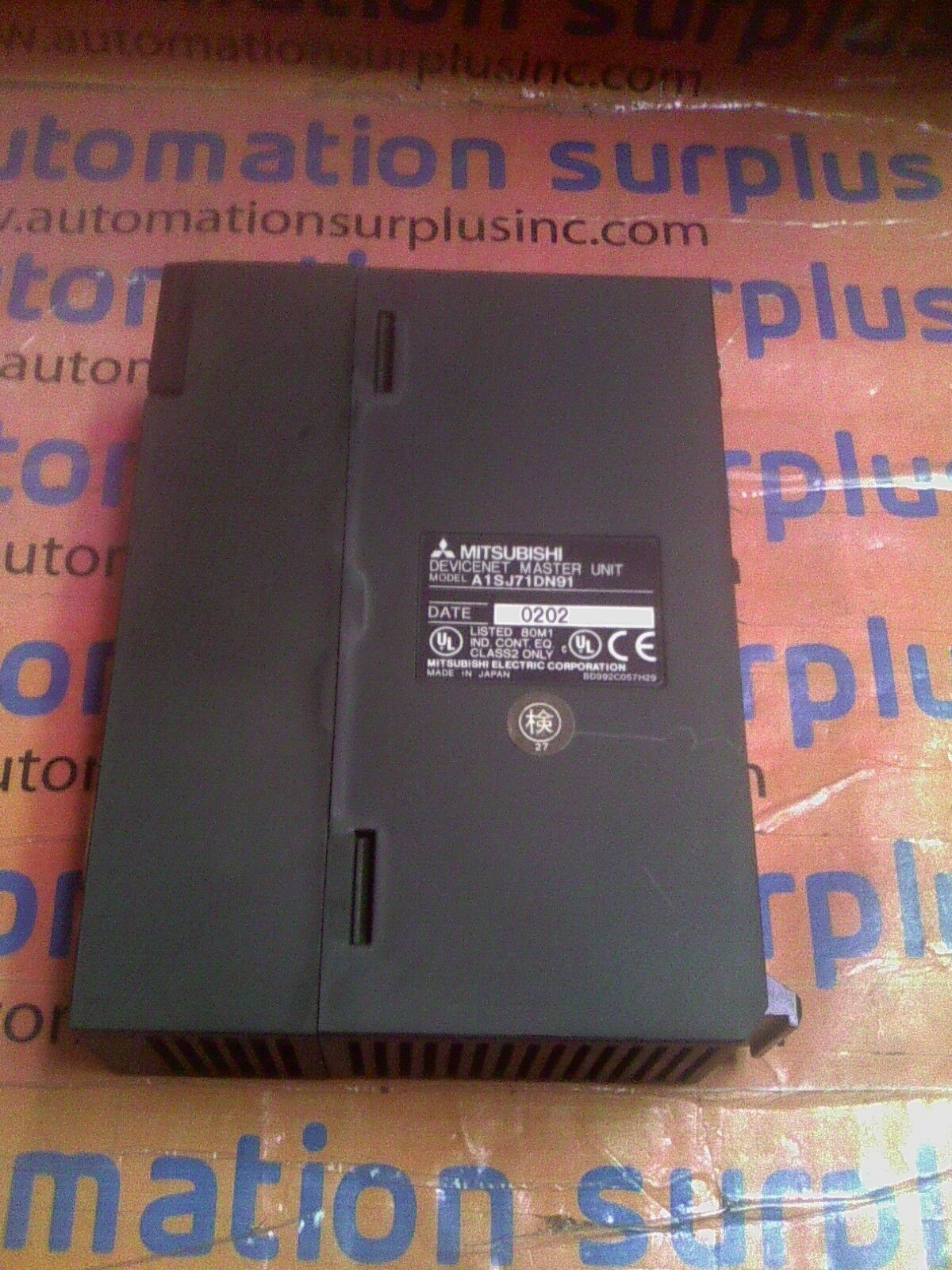 1pc Mitsubishi A1SJ71DN91 PLC Module 1 Year