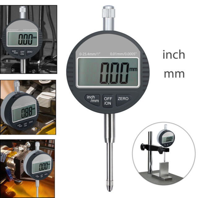 Electronic Digital Dial Test Indicator Precision Measure Probe Gauge 0.001mm AU