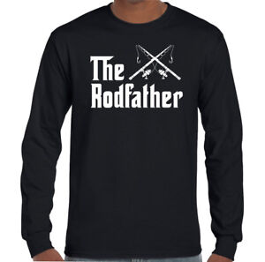 60368b2309 Details about The Rodfather - Mens Funny Fishing T-Shirt Rod Father Fathers  Day Dad Fish Reel