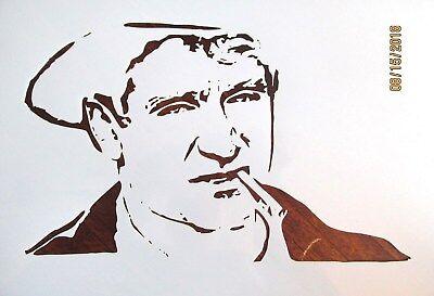 Robin Emblem Stencil Reusable 10 mil Mylar Stencil