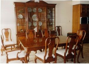 Details about Henredon Dining Room Furniture Set