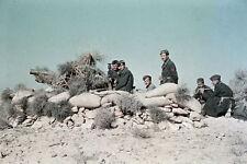WW2 photo German in North Africa by Erwin Rommel #04