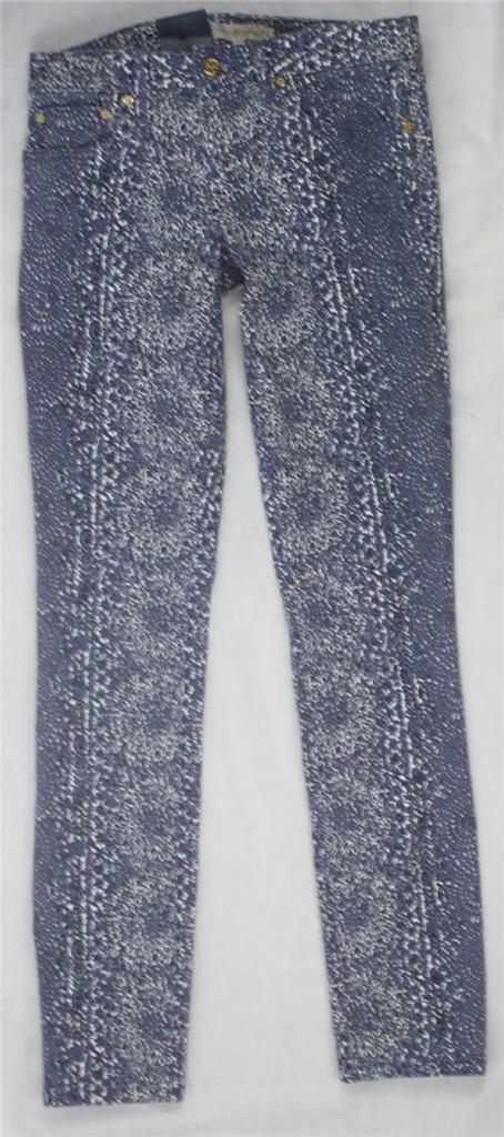 AUTH  225 Tory Burch Women Ivy Super Skinny Jeans 26
