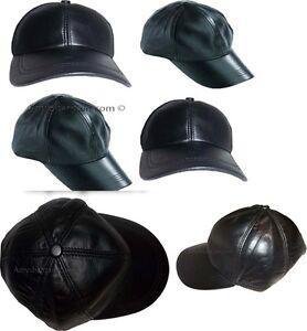 Caricamento dell immagine in corso 6-Nuovo-pelle-Cappello-Baseball-Donna-da- Uomo- fc7137505153