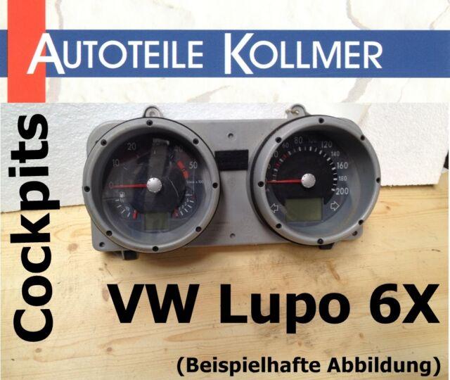 Cockpit VW Lupo 6X 1,4 / 55kw Baujahr 02/1999 133.185 km 6X0920800A