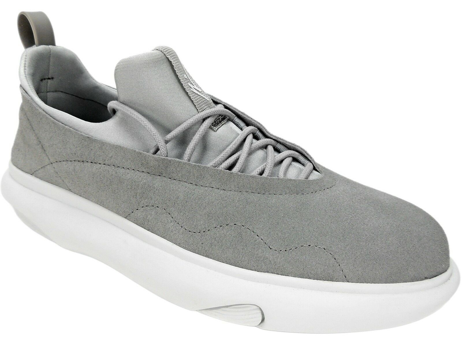 08ac7358f9442 Article No Men s 0502 Casual Suede Sneakers Light Pastel Grey Size ...