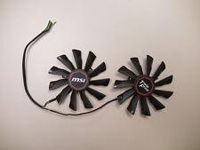 95mm VGA Dual Fan PLD10010S12HH MSI R9 270 280 290 GTX 770 780 790 Video Card
